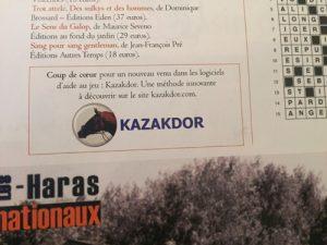 Coup de coeur KAZAKDOR l'App qui bouleverse la façon de jouer aux courses PMU.