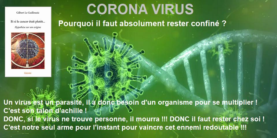 Corona virus, pas si costaud...